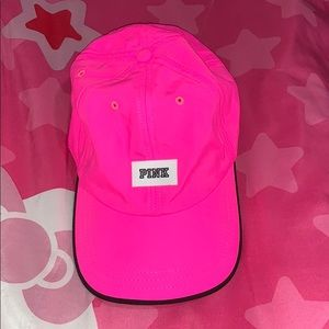 Neon pink dad hat from Victoria Secret PINK 💖💖💖